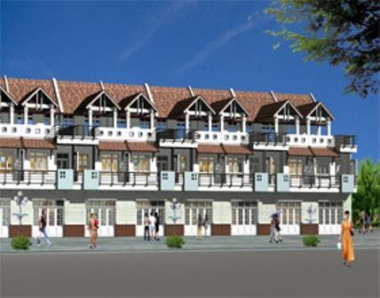 Tp. Vũng Tàu: 50 biệt thự và 70 nhà liền kề ra mắt thị trường  1