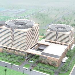 Lotus Hotel có thể cao đến 400m