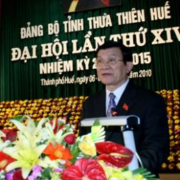 Đưa Thừa Thiên - Huế trở thành thành phố trực thuộc Trung ương