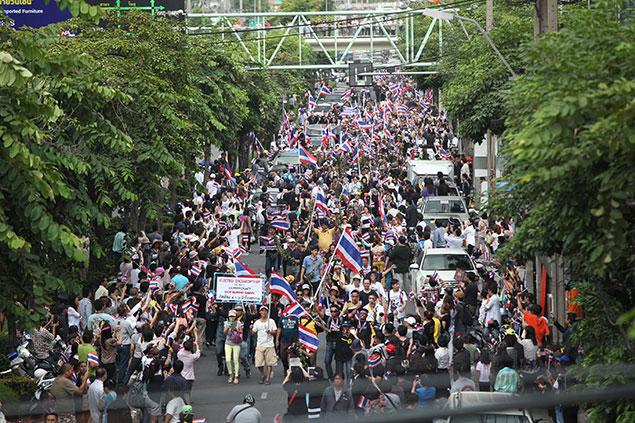 biểu tình ở thái lan 3