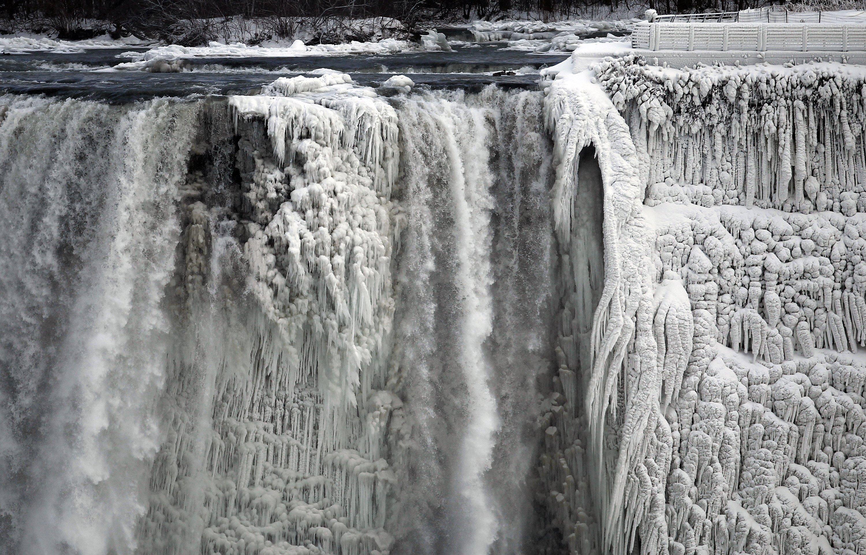 thác niagara đóng băng 2