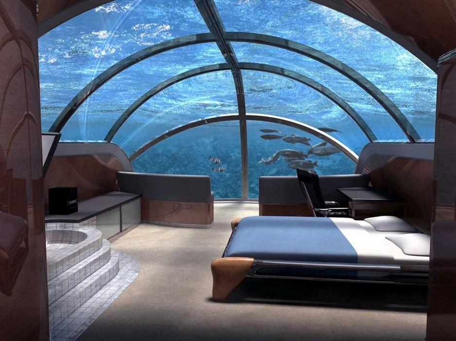5 Chiêm ngưỡng khách sạn siêu sang dưới đáy biển