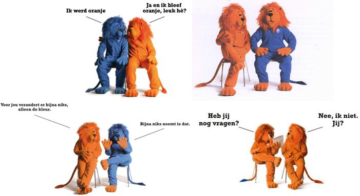 Vũ điệu Tango của hai chú sư tử ngân hàng