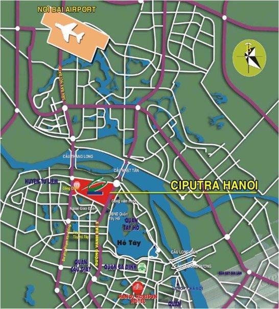Khu đô thị Nam Thăng Long - Ciputra (2)