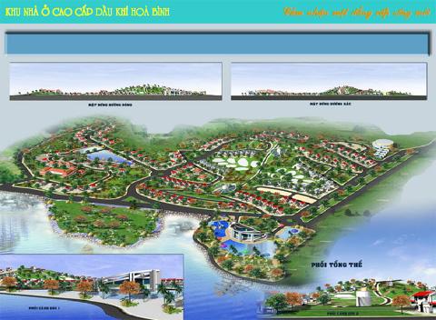 Dự án khu nhà ở cao cấp Dầu khí Hòa Bình (1)