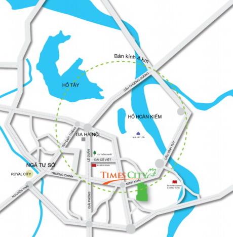 Thành phố sinh thái Times City (tên cũ Eco City) (1)