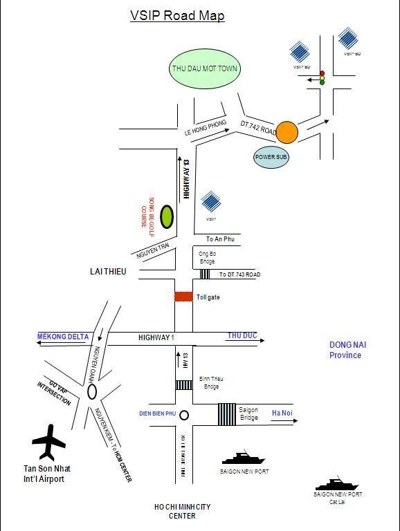 Khu công nghiệp Việt Nam - Singapore VSIP Bình Dương (8)