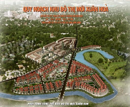 Khu đô thị mới Phường Xuân Hòa (1)