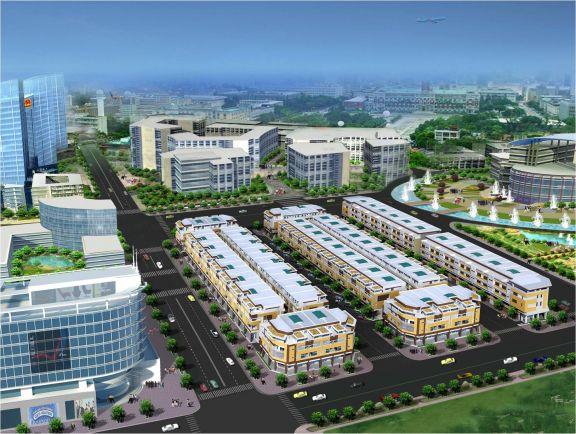 Phố thương mại Phú Lộc An - Gold Town ~ TrustReal
